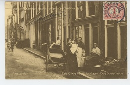 PAYS BAS - AMSTERDAM - Straatleven  - Cachet Au Dos Du CLUB PHILATELIQUE ET CARTOPHILE MARINUS NICOLAAS KIESOUW - Amsterdam