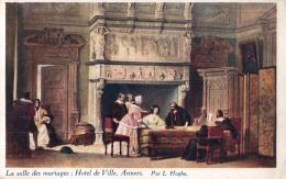 BELGIQUE -  ANVERS - Hôtel De Ville - Salle Des Mariages - Par L. Haghe (Louis). - Illustrateurs & Photographes