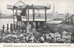 BELGIQUE - ANVERS - ANTWERPEN - Vlaamch Hoofd Aanlegplaats Van De Soc. Royale Nautique Anversoise. - Antwerpen