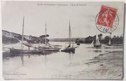 1907 22 COTES D'ARMOR (Côtes Du Nord) Route De PLEUDANIEL à LEZARDRIEUX Anse De Caramel Coll HAMON Guingamp - Non Classés