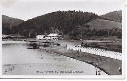 CHAMBON - ( 63 ) - Plage Du Lac   - ( C.P.S.M. - Pt -Ft- ) - Frankrijk