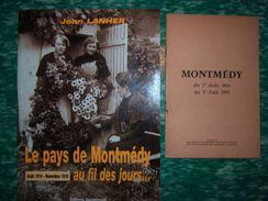 Lot Livres Verdun Argonne Montmedy Saint-Mihiel Meuse 14-18 - 1914-18