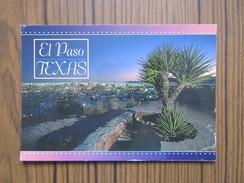 USA    Etats Unis     Texas   El Paso            Timbre USA - El Paso