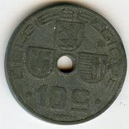 Belgique Belgium 10 Centimes 1944 Belgie-Belgique KM 126 - 02. 10 Centimes