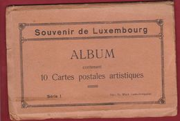 Carnet Livret Album 7 Cartes Postales Luxembourg (pas Complet)` - Luxembourg - Ville
