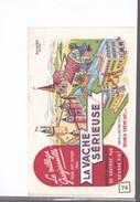 1 Buvard :  La Vache Sérieuse     Double Crème :  Le Village Grosjeanville - Alimentaire