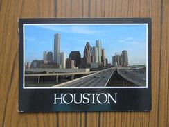 USA    Etats Unis     Texas   Houston             Timbres Wagon Et Foot - Houston