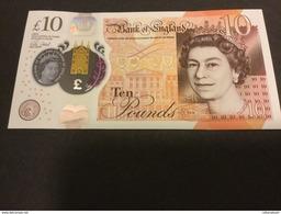 ENGLAND NLP 10 Pounds 2017 Austen UNC - [ 3] Scotland