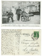 CPA-Nos Chers Blessés De L'Ambulance Carrel à Compiège Et Leurs Bonnes Infirmières (cachet Linéaire Gimel) - Weltkrieg 1914-18