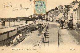 PONTOISE - 95 - Le Quai Du Potbuis - Caleches - 74270 - Pontoise