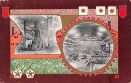 Japon Japan -  Manufactory Industry Usine - Sent To Paris Via Siberia - Tampon à KOBE - Japan