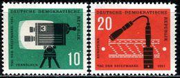 DDR - Mi 861 / 862 - ** Postfrisch (D) - 10-20Pf  Tag Der Briefmarke 61 - DDR