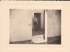 MINI-PHOTO--MILITARIA--ALGERIE--COLOMB-BECHAR----voir 2 Scans - Guerre, Militaire