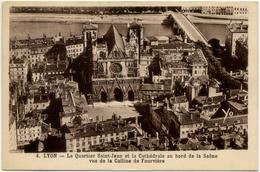 LYON – Le Quartier Saint-Jean Et La Cathédrale Au Bord De La Saône - Otros