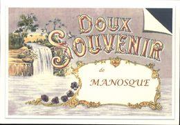 04  Doux Souvenir De MANOSQUE  (cpm ) - Manosque