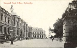 Sri Lanka /////  CPA  /General Post Office, Colombo - Sri Lanka (Ceylon)