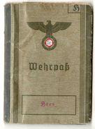 WEHRPASS Allemand 1939 - Cachet Russe - Documenti