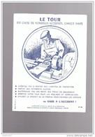 3 Buvards  Le Tour   La Securité A Travers Les Ages Prevention   127 90 201 - Buvards, Protège-cahiers Illustrés