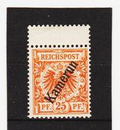ÖMV1576 KAMERUN 1897  MICHL 5  UNGEBRAUCHT Mit FALZ SIEHE ABBILDUNG - Kolonie: Kamerun