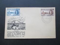 Übersee Pitcairninsel Pitcairn Islands 2.12.1946 Bildumschlag. FDC?? Blankomschlag H.M.A.V - Pitcairninsel