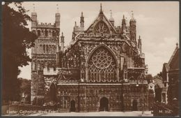 West Front, Exeter Cathedral, Devon, C.1920 - RP Postcard - Exeter