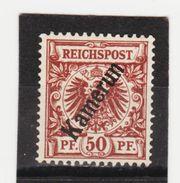 ÖMV1578 KAMERUN 1897  MICHL  6  UNGEBRAUCHT Mit FALZ SIEHE ABBILDUNG - Kolonie: Kamerun