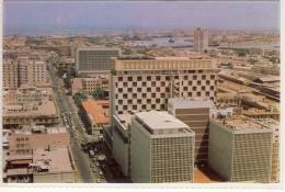 KARACHI PAKISTAN AERIAL VIEW OF THE COSMOPOLITAN CITY   Ca 1980 - Pakistan
