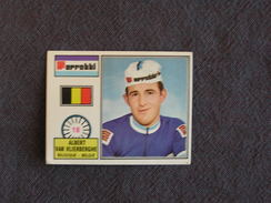 N° 18 PANINI Sprint 72 Albert Van Vlierberghe Belgique Cyclisme Cycliste Coureur Vélo Wielrenner Chromo Trading Card - Oude Documenten