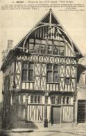 B 2127 - Joigny  Ancien  (89)   Maison De Bois   Place St Jean - Joigny