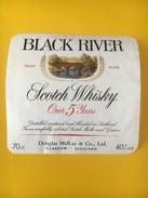 5662 -  Black River Scotch Whisky Douglas McKay Glasgow - Whisky