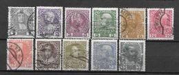 LOTE 1436  ///   AUSTRIA 1908  //  YVERT Nº: 101/111 - Used Stamps