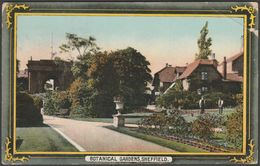Botanical Gardens, Sheffield, Yorkshire, 1913 - Copleston Postcard - Sheffield