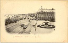 33/ CPA 1900  - Bordeaux - La Douane Et Les Quais Sud - Bordeaux