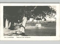 Constantinople MODA Sur La MER De Marmara Real Photo With Beautiful Tricolor Franking 1929 - Turkey