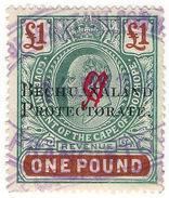 (I.B) Bechuanaland Protectorate Revenue : Duty Stamp £1 - Bechuanaland (...-1966)