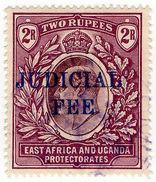 (I.B) KUT Revenue : East Africa Judicial Fee 2R - Kenya, Uganda & Tanganyika