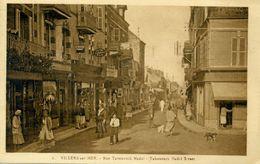 14 - VILLERS SUR MER - Rue Tabourech Nada. - Villers Sur Mer