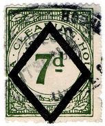 (I.B) George V Revenue : Tea Clearing House 7d - 1902-1951 (Kings)