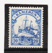 ÖMV1596 KAMERUN 1905  MICHL  23 UNGEBRAUCHT Mit FALZ  SIEHE ABBILDUNG - Kolonie: Kamerun