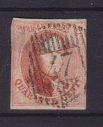 Belgique  N°8 40C D47 RANCE   COBA+50+ Pour MARGES Voir Scan AMINCI - 1851-1857 Medaglioni (6/8)