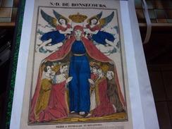 Image - DEMBOUR ET GANGEL : N.-D. DE BONSECOURS. / PRIERE À NOTRE DAME DE BON-SECOURS. - Images Religieuses
