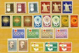 Portugal **LUXE Année Complète 1964 P 935 à 954 (20v)              La Photo Est Celle Du Produit Fourni. - Portugal