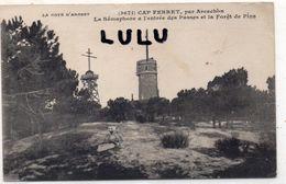 DEPT 33 : édit. Henry Guillier N° 3671 : Cap Ferret Le Sémaphore A L Entrée Des Passes Et La Foret De Pins - Francia