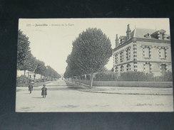 JANVILLE   / ARDT CHARTRES  1910   AVENUE DE LA GARE      CIRC  EDIT - France