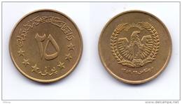 Afghanistan 25 Pul 1973 (1352) - Afghanistan