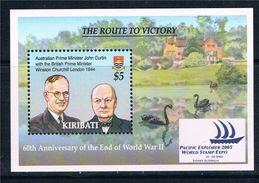 Kiribati 2005 - 50e Ann Fin 2e Guerre Mondiale, Churchill - BF Neufs // Mnh // CV 12.50 Euros - Seconda Guerra Mondiale
