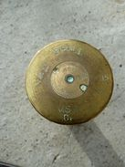 WW1/ Rare Douille Anglaise De La Navy De 40mm Mle 15 Datée 2/16! 2 Pounders! - 1914-18