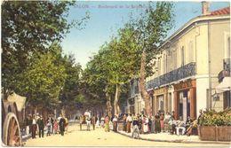 13/ CPA A - Salon - Boulevard De La République - Salon De Provence