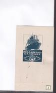 1 Buvard        Messageries Maritimes - Transport