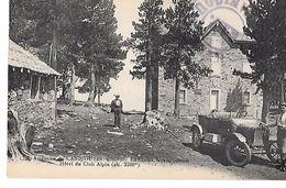 66 - CANIGOU (ascension) - HOTEL DU CLUB ALPIN Le CHALET FACADE Ouest - Voiture Ancienne Editeur MTIL - Autres Communes